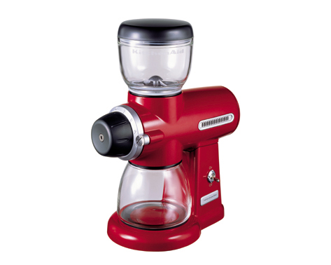 KitchenAid Kaffekvarn röd