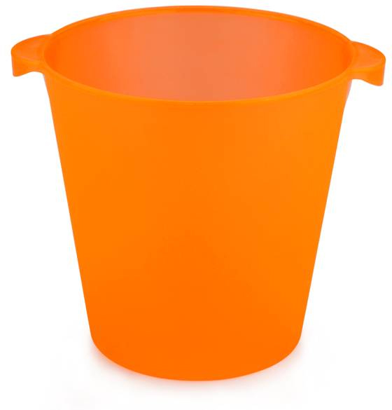 Vinkylare. Orange Polypropenplast
